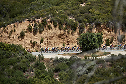The chase group continue to climb at Amgen Tour of California Women's Race empowered with SRAM 2019 - Stage 3, a 126 km road race from Santa Clarita to Pasedena, United States on May 18, 2019. Photo by Sean Robinson/velofocus.com