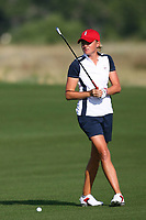 Bildnummer: 14242856  Datum: 17.08.2013  Copyright: imago/Icon SMI<br /> August 17, 2013: Stacy Lewis of Team USA during play for the 2013 Solheim Cup at the Colorado Golf Club in Parker, Colorado. GOLF: AUG 17 LPGA Golf Damen - The Solheim Cup - Second Round <br /> Norway only