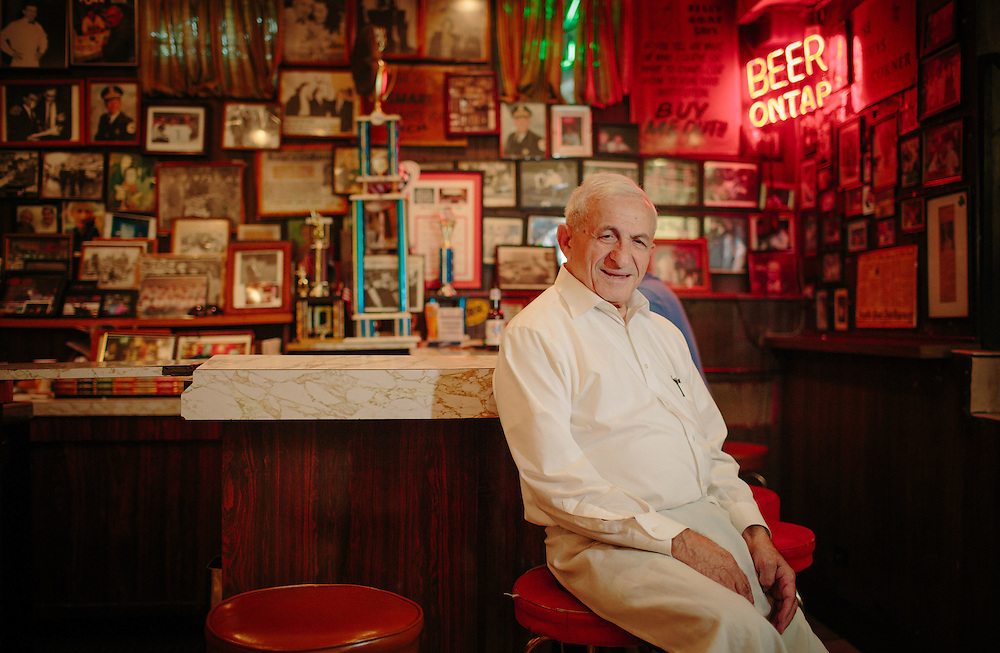 For most of his life, Sam Sianis, who owns the Billy Goat Tavern, has lived under the shadow of the Billy Goat curse. In 1945, Sam's uncle Bill Sianis placed this curse on the Chicago Cubs when they wouldn't allow his pet goat into Wrigley Field for the World Series, the last time the Cubs appeared in the series. In 2016, the Cubs broke the 108-year World Series Championship dry spell.