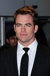 Chris Pine at the This Means War premiere in London on Monday, 30th January 2012. Photo by: i-Images