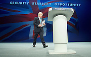 Conservative Party Conference <br /> Manchester, Great Britain <br /> Day 3<br /> 6th October 2015 <br /> <br /> <br /> Boris Johnson MP <br /> speech <br /> <br /> <br /> <br /> Photograph by Elliott Franks <br /> Image licensed to Elliott Franks Photography Services
