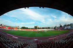 NOVI SAD, SERBIA - Monday, September 10, 2012: Wales players during a training session at the Karadorde Stadium ahead of the 2014 FIFA World Cup Brazil Qualifying Group A match against Serbia. (Pic by David Rawcliffe/Propaganda)