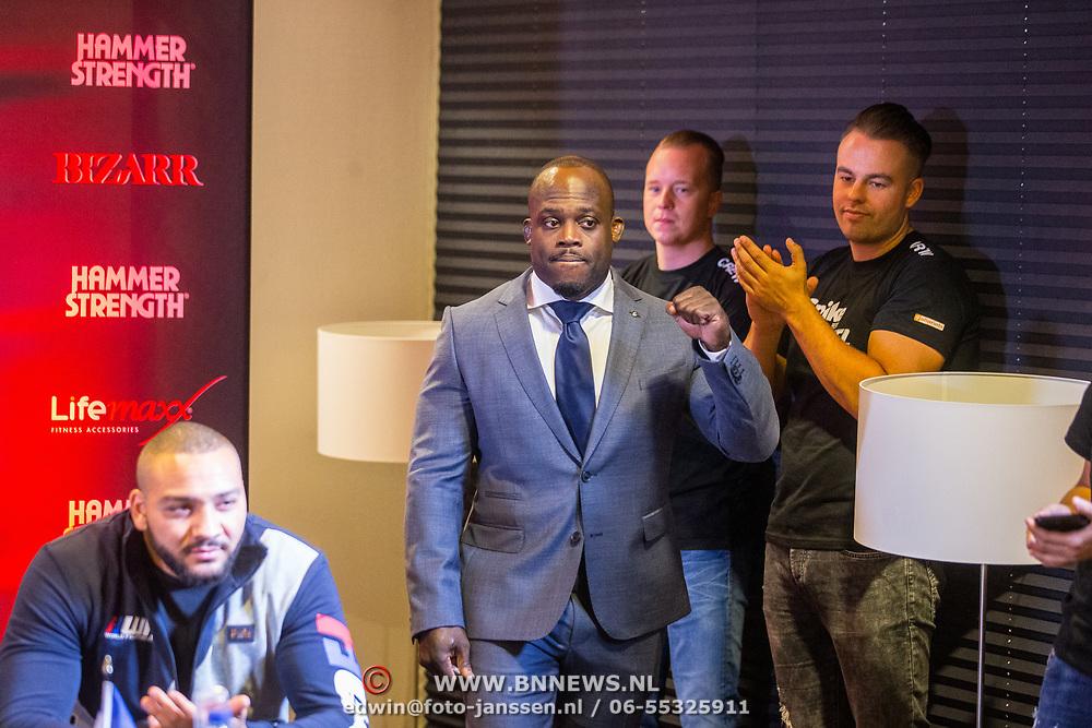 NLD/Almere/20171028 - Weging + staredown Spike presents: WFL - Final 16, Melvin Manhoef