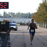 Jim Brown finished first overall at Saturday's Blessed are the Peacemakers 5k held at Fairpark