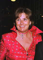 LADY AMABEL LINDSAY at an exhibition in London on 26th October 1998.MLF 15