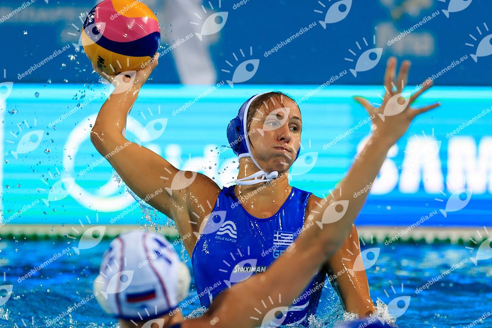 16-07-2017: Waterpolo: Australie  v Kazachstan: Boedapest<br /> <br /> (L-R)  during the waterpolomatch between women Australia and Kazachstan during the 17th FINA World Championships 2017 in Budapest, Hungary<br /> <br /> Photo / Foto: Gertjan Kooij Photo @Marcelterbals/Deepbluemedia/Insidefoto