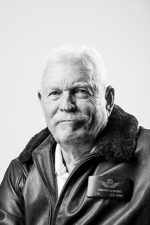 Timothy R. Wanke<br /> Marine Corps<br /> Army<br /> O-5<br /> Aviator<br /> 1961 - 1968<br /> 1972 - 1992<br /> Vietnam, Desert Storm<br /> <br /> Veterans Portrait Project<br /> Clarksville, TN
