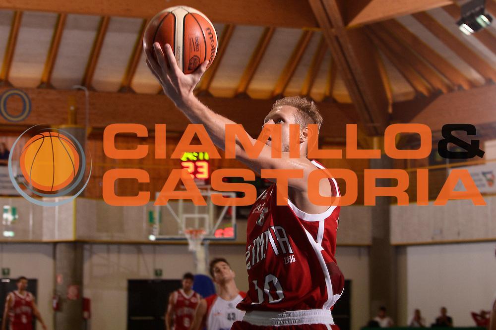 Andrea La Torre <br /> EA7 Emporio Armani Olimpia Milano - Legnano Knights <br /> Lega Basket Serie A 2016/2017<br /> Bormio 28/08/2016<br /> Foto Ciamillo-Castoria