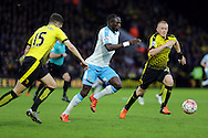 Moussa Sissoko during the The FA Cup Third Round match between Watford and Newcastle United at Vicarage Road, Watford, England on 9 January 2016. Photo by Dave Peters.