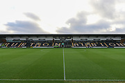 Pirelli Stadium before the EFL Sky Bet League 1 match between Burton Albion and Rochdale at the Pirelli Stadium, Burton upon Trent, England on 21 December 2019.
