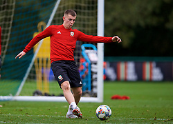 CARDIFF, WALES - Monday, October 8, 2018: Wales' Ben Woodburn during a training session at the Vale Resort ahead of the International Friendly match between Wales and Spain. (Pic by David Rawcliffe/Propaganda)
