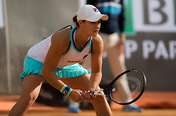 May 14, 2019 - Rome, ITALY - Ashleigh Barty of Australia in action during her first-round match at the 2019 Internazionali BNL d'Italia WTA Premier 5 tennis tournament (Credit Image: © AFP7 via ZUMA Wire)