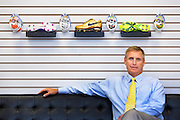 (Ellen Harasimowicz for The Boston Globe) Harris MacNeill is the third generation of the MacNeill family to helm CHAMP/MacNeill, the world's leading producer of cleats for various sport and industrial uses.
