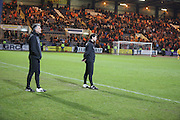 Dundee United manager Jackie McNamara  - Dundee v Dundee United - SPFL Premiership at Dens Park<br /> <br />  - &copy; David Young - www.davidyoungphoto.co.uk - email: davidyoungphoto@gmail.com