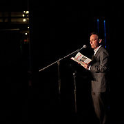 Author Adam Gopnik at The Music Hall Loft in a Writers at the Loft presentation in Portsmouth, NH