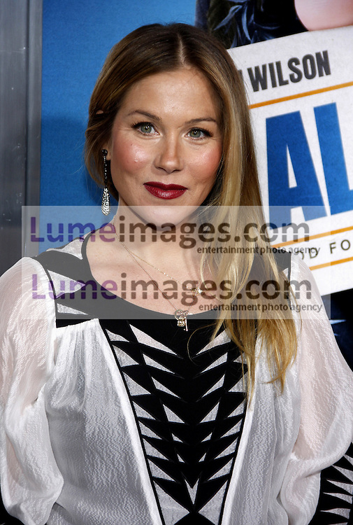 Christina Applegate at the Los Angeles premiere of 'Hall Pass' held at the ArcLight Cinemas in Hollywood on February 23, 2011. Credit: Lumeimages.com