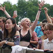 London, England, UK. 16th July 2017. Hundreds attends the Citadel Festival at Victoria Park, London, UK.
