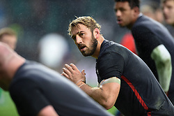 Chris Robshaw of England looks on during the pre-match warm-up - Mandatory byline: Patrick Khachfe/JMP - 07966 386802 - 18/11/2017 - RUGBY UNION - Twickenham Stadium - London, England - England v Australia - Old Mutual Wealth Series International