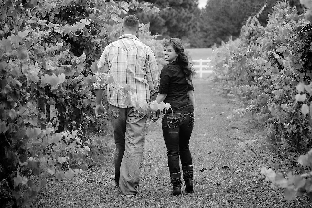 Brandon and Erika Engagement | Jacksonville NC Photographers