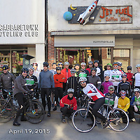 Cabbagetown Cycling Club 1st ride