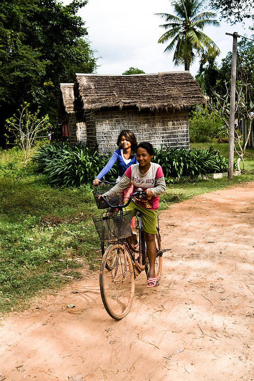 Village supported by Soujourn resort. Siem Reap, Cambodia. Siem Reap, Cambodia