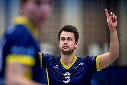 03-02-2018 NED: Talent Team - Inter Rijkwijk, Arnhem<br /> Talent Team verslaat Rijswijk met 3-0 / Guido Spooren #3 of Rijswijk