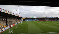 A general view of Scunthorpe United's Glanford Park - Mandatory by-line: Joe Dent/JMP - 21/10/2017 - FOOTBALL - Glanford Park - Scunthorpe, England - Scunthorpe United v Peterborough United - Sky Bet League One