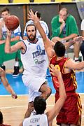 DESCRIZIONE : Skopje Nazionale Italia Uomini Torneo Internazionale di Skopje Italia Macedonia Italy FYROM<br /> GIOCATORE : Luigi Datome<br /> CATEGORIA : Passaggio<br /> SQUADRA : Italia Italy<br /> EVENTO : Trofeo Internazionale di Skopje<br /> GARA : Italia Macedonia Italy FYROM<br /> DATA : 26/07/2014<br /> SPORT : Pallacanestro<br /> AUTORE : Agenzia Ciamillo-Castoria/Max.Ceretti<br /> Galleria : FIP Nazionali 2014<br /> Fotonotizia : Skopje Nazionale Italia Uomini Torneo Internazionale di Skopje Italia Macedonia Italy FYROM