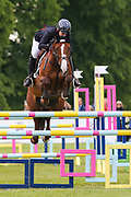 Chilli Knight ridden by Gemma Tattersall in the Equi-Trek CCI-4* Show Jumping during the Bramham International Horse Trials 2019 at Bramham Park, Bramham, United Kingdom on 9 June 2019.