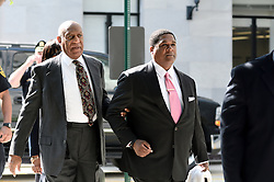 Norristown, PA., USA - May 24, 2016; Bill Cosby arrives at Montgomery County Courthouse in Norristown, PA for the preliminary hearing in the sexual assault case against him.