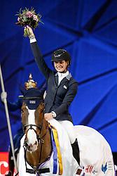 Ekberg Jonna, Freestyler<br /> Swedish International Horse Show 2015<br /> © Hippo Foto - Peter Zachrisson