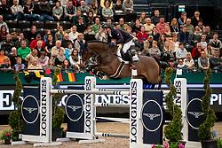 JUNG Michael (GER), fischerChelsea<br /> Leipzig - Partner Pferd 2019<br /> Longines FEI Jumping World Cup<br /> Qualifikation CSI-W<br /> 18. Januar 2019<br /> © www.sportfotos-lafrentz.de/Stefan Lafrentz