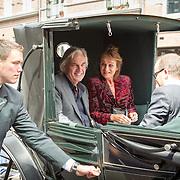 NLD/Amsterdam/20150620- Filmpremiere Code M, Derek de Lint en Karen van Holst Pellekaan