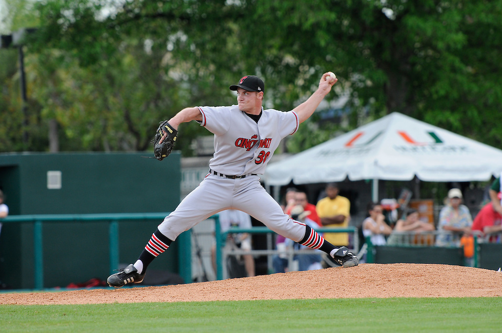 2008 University of Cincinnati Baseball @ Miami