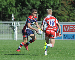 Billy Searle of Bristol United - Mandatory by-line: Paul Knight/JMP - 02/10/2016 - RUGBY - Hyde Park - Taunton, England - Bristol United v Gloucester United - Aviva A League
