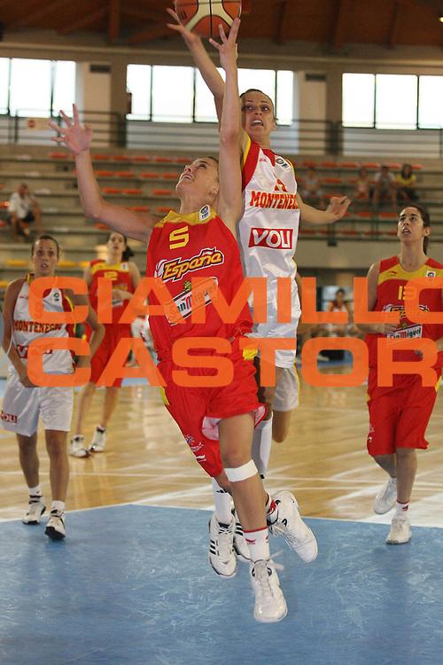 DESCRIZIONE : Sulmona U20 European Championship Women Preliminary Round Montenegro Spain<br /> GIOCATORE : Gaby Ocete<br /> SQUADRA : Spain<br /> EVENTO : Sulmona U20 European Championship Women Preliminary Round Montenegro Spain Campionato Europeo Femminile Under 20 Preliminari Montenegro Spagna<br /> GARA : Montenegro Spain<br /> DATA : 12/07/2008 <br /> CATEGORIA : tiro<br /> SPORT : Pallacanestro <br /> AUTORE : Agenzia Ciamillo-Castoria/M.Marchi<br /> Galleria : Europeo Under 20 Femminile <br /> Fotonotizia : Sulmona U20 European Championship Women Preliminary Round Montenegro Spain<br /> Predefinita : si