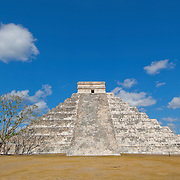 El Castillo temple at Chichen Itza.