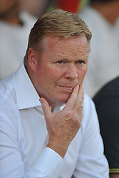 Southampton Manager, Ronald Koeman  - Photo mandatory by-line: Alex James/JMP - Tel: Mobile: 07966 386802 15/07/2014 - SPORT - FOOTBALL - County Ground- Swindon  -  Swindon Town V Southampton  - preseason