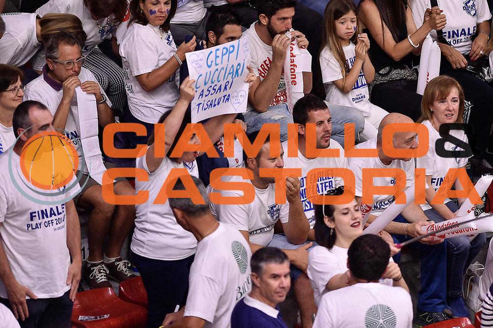 DESCRIZIONE : Campionato 2014/15 Serie A Beko Dinamo Banco di Sardegna Sassari - Grissin Bon Reggio Emilia Finale Playoff Gara4<br /> GIOCATORE : Geppi Cucciari<br /> CATEGORIA : Tifosi Pubblico Spettatori<br /> SQUADRA : Dinamo Banco di Sardegna Sassari<br /> EVENTO : LegaBasket Serie A Beko 2014/2015<br /> GARA : Dinamo Banco di Sardegna Sassari - Grissin Bon Reggio Emilia Finale Playoff Gara4<br /> DATA : 20/06/2015<br /> SPORT : Pallacanestro <br /> AUTORE : Agenzia Ciamillo-Castoria/GiulioCiamillo