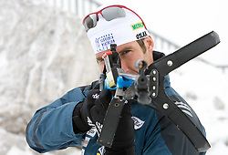 Vasja Rupnik of Slovenian Men Biathlon Team at Dachstein glacier before new season 2008/2009, Austria, on October 30, 2008.  (Photo by Vid Ponikvar / Sportida)