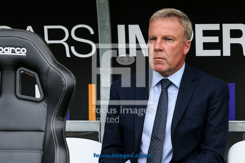 Wolverhampton Wanderers head coach Kenny Jackett during the pre-season match at Sixfields Stadium, Northampton<br /> Picture by Andy Kearns/Focus Images Ltd 0781 864 4264<br /> 26/07/2016