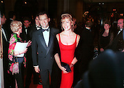 Paul Burrell and Jacqueline Allan. The Princess Ball. Beverly Wilshire Hotel. Beverly Hills. 21 March 1998. © Copyright Photograph by Dafydd Jones 66 Stockwell Park Rd. London SW9 0DA Tel 020 7733 0108 www.dafjones.com
