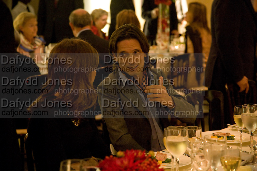 Dasha Zhukova; Jeremy Deller, Francis Bacon opening private view and dinner. Tate Britain. 8 September 2008 *** Local Caption *** -DO NOT ARCHIVE-© Copyright Photograph by Dafydd Jones. 248 Clapham Rd. London SW9 0PZ. Tel 0207 820 0771. www.dafjones.com.