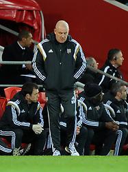 Brentford Manager, Mark Warburton - Photo mandatory by-line: Paul Knight/JMP - Mobile: 07966 386802 - 20/12/2014 - SPORT - Football - Cardiff - Cardiff City Stadium - Cardiff City v Brentford - Sky Bet Championship