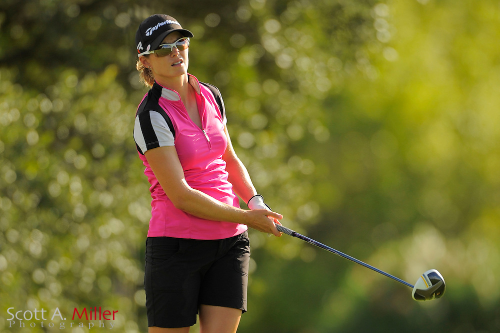 Katy Harris during the final round of the Symetra Tour Championship at LPGA International on Sept. 29, 2013 in Daytona Beach, Florida. <br /> <br /> <br /> &copy;2013 Scott A. Miller