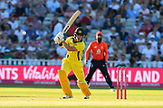 D'Arcy Short of Australia batting during the International T20 match between England and Australia at Edgbaston, Birmingham, United Kingdom on 27 June 2018. Picture by Graham Hunt.