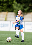 Chloe Macek (Durham Womens FC) in action during the FA Women's Super League match between Durham Women FC and Everton Ladies at New Ferens Park, Belmont, United Kingdom on 30 August 2015. Photo by George Ledger.