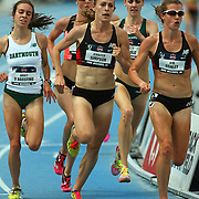 SIMPSON - 13USA, Des Moines, Ia. - Jenny Simpson positioned herself with a lap to go in the slow 5,000.  Photo by David Peterson