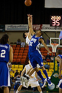 November 26, 2008: Hampton forward Donte Harrison jumps for the tip off in the Pirates first round win against the University of Alaska-Anchorage Seawolves in the opening game of the 2008 Great Alaska Shootout at the Sullivan Arena