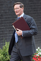 © licensed to London News Pictures. London, UK 28/08/2013. Dominic Grieve, Attorney General for England and Wales arriving Downing Street, London on Wednesday, 28 August 2013 to attend a meeting of the National Security Council regarding the Syrian crisis. Photo credit: Tolga Akmen/LNP
